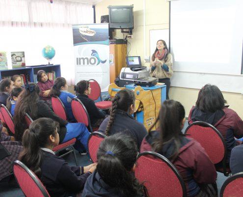 Jornada en Colegios de Talcahuano